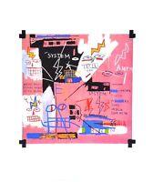 Jean-Michel Basquiat Six Fifty Poster Kunstdruck Bild 36x28cm Urban Art