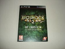 Pre Order Bonus Card - BIOSHOCK 2 / Collectible / No Game Included / PS3 RARE