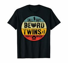 Perfect Gift For Kids Dude - Tall Guy Beard Twins Purple Hoser Men Shirt
