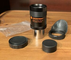 "Celestron telescope refractor cassegrain eyepiece 1.25"" 30mm Ultima 1988 Japan"