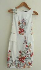 CUE IN THE CITY DRESS Sleeveless Floral Print Size 6
