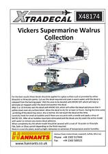 Xtra Decals 1/48 VICKERS SUPERMARINE WALRUS British Flying Boat