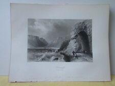Vintage Print,GLENARIFF,Scenery of Ireland,Bartlett