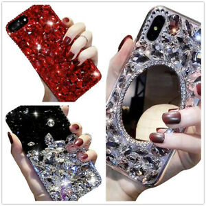 For LG APPLE SAMSUN MOTO Bling Glitter Diamond Case Sparkle Crystal Phone Case