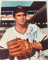 GAYLORD PERRY GIANTS INDIANS HOF SIGNED 8X10 PHOTO SGC COA AUTO AUTOGRAPH