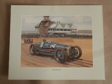 Delage 1926 Graham Turner ART.GP car side view photo graph picture poster print