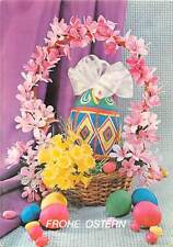 Frohe Ostern, eggs, giant egg, flowers, fleurs blumen