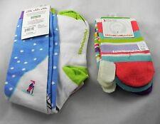 Set of Two Littlemissmatched Flip Flop & Knee High Girls/Ladies Socks Ages 10-11