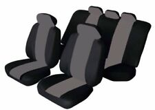 11 PCE FLORIDA BLACK/GREY Seat Covers Dacia Duster, Logan, Sandero