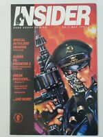 DARK HORSE INSIDER COMICS MAGAZINE #5 MAY 1992 TERMINATOR & ALIENS COVERS!