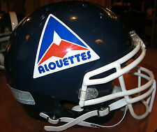 MONTREAL ALOUETTES CFL CANADIAN FOOTBALL LEAGUE 1981 THROWBACK STYLE HELMET(L)