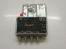 Global Invacom Quad Fibre IRS GTU Virtual Quad Converter NO POWER SUPPLY - Used