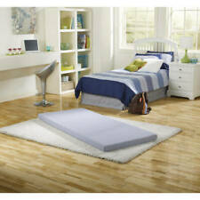 Siesta Twin Memory Foam Guest Roll-Up Mattress Bed Extra Portable Sleeper Pad