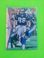 Pete Metzelaars Signed 1995 SP #28 Wabash Panthers Autograph