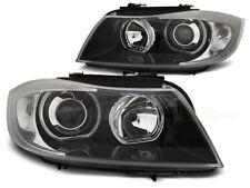 BMW 320i 325i 328i 335i E90 E91 2005 2006 2007 2008 LPBME4 HEADLIGHTS HALO RIMS