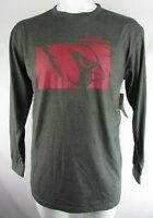 Arizona Cardinals Men's Gray Team Apparel Long Sleeve T-Shirt NFL