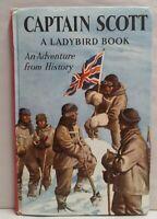 Vintage Ladybird Book Captain Scott c1963 HB A Polar Adventure From History