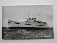 HOCHSEEFÄHRE DEUTSCHLAND Postkarte Passagierschiff  ORIGINAL PK