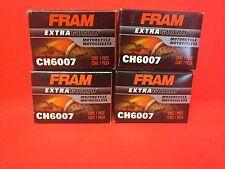 New Lot of 4 Fram CH6007 Oil Filter for 15412-413-005 15412-KEA-003 15441413005