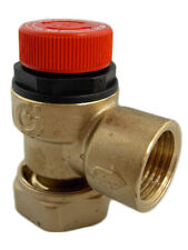 Altecnic Caleffi 6 Bar Pressure Relief Valve (Loose Nut Connection) - A311501CST