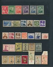 China/Macau. Selection of BETTER unused stamps - ALL HFG - 4 SCANS
