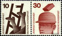 BRD (BR.Deutschland) W29 postfrisch 1972 Unfallverhütung
