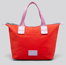 NWT MARC BY MARC JACOBS Domo Arigato Strawberry Red Nylon Tote Bag Handbag $178