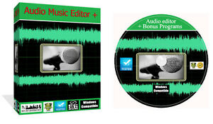 Sound Live Audio Music Recording Editing Production Home Studio Software PC CD