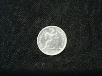1896 Guatemala 1/2 real silver smaller coin @15mm