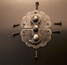 Antique Brass/Bronze Style Lock Latch Clasp Jewellery Chest UK Seller