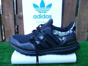 ULTRABOOST DNA UK8.5 BNWT BLACK/PATTERN BOOST 2016 VERY RARE ISSUE LOOK