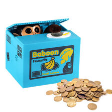 Monkey Mischief Money Box Mechanical Coin Piggy Bank Mischief Saving Gift Uk