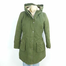 BARBOUR Winterjacke Mantel Khaki Oliv Gr. EUR 40 UK 14 (B56)
