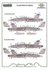 "Model Maker Decals 1/72 MCDONNELL DOUGLAS F/A-18D HORNET VMFA-225 ""VIKINGS"""