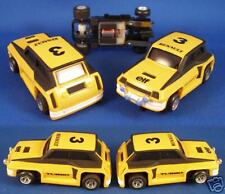 1980 Ideal TCR Rare SLOTTED Slot Car Renault Turbo YL#3