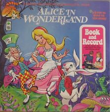 ALICE IN WONDERLAND - PETER PAN LP W/ BOOKLET