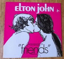 Elton John Friends LP/ri est