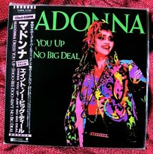 MADONNA MINT JAPAN DRESS YOU UP DISC VINYL PICTURE SLEEVE RECORD PROMO OBI LOT
