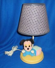 Mickey Mouse Baby Lamp Used