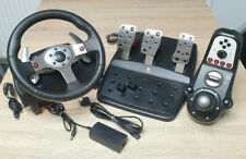 Logitech G25 Racing Wheel + Pedale + Shifter