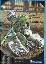 MOTOCROSS03-PUBBLICITA'/ADVERTISING-2003- MICHELIN STARCROSS MS3 e MH3+M.MASCHIO