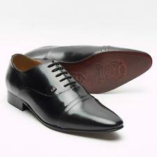 Para Hombre Smart Caballeros Boda Formal Informal Traje de cena de trabajo de oficina Negro Zapatos Talla