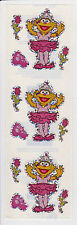 Sandylion SEASAME STREET BALLERINA ZOE Scrapbooking Stickers *FAST SHIP* I01