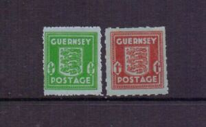 GUERNSEY 1942 BANKNOTE PAPER ( 2 ) MH/MNH