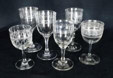 Clear Art Glassware Victorian Date-Lined Glass