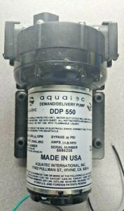 Aquatec DDP550 Demand Delivery Water Pump 115 Volt 4.9 GPM 60 PSI (miatech)