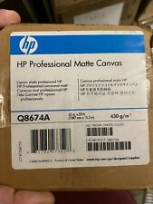 HP Q8674A - HP Professional Matte Canvas -1067 mm x 15.2 m (42 in x 50 ft)