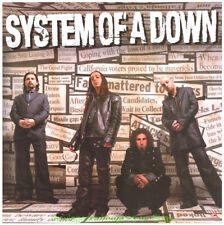 System Of A Down Poster 24x24 Inch Mezmerize Album Rare Promotional Poster