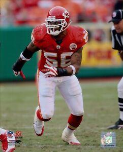 Derrick Johnson Kansas City Chiefs NFL Licensed Unsigned Glossy 8x10 Photo A