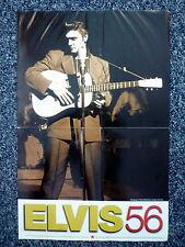 ELVIS 56 Original 1980s Special TV Movie Poster Elvis Presley Documentary